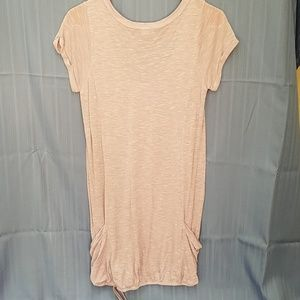 Forever 21 Tops - Lavender scoop neck sleeve tunic pockets Forever21